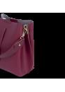 Сумка бордового цвета 01-1104