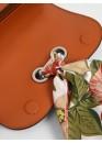 Сумка оранжевого цвета 01-0871