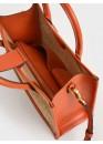 Сумка оранжевого цвета 01-0581