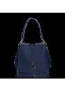 Сумка синего цвета 01-0086