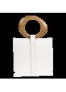 Сумка белого цвета 01-0969