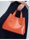 Сумка оранжевого цвета 01-0010