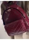 Рюкзак бордового цвета 02-0032