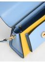 Сумка голубого цвета 01-1213
