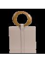 Сумка бежевого цвета 01-0122